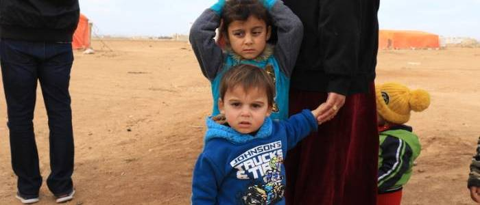 Five children killed in bomb attack while playing near monastery in Syrian Christian town