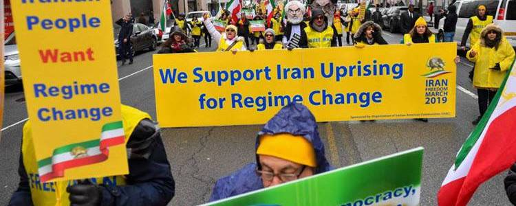 Iranian people are turning against the terror supporting regime