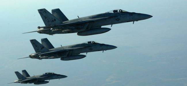 ​US Air Forces launched airstrikes targeting Islamic State terrorists in Libya