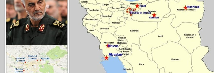 Exposed terrorist training camps controlled by Iran