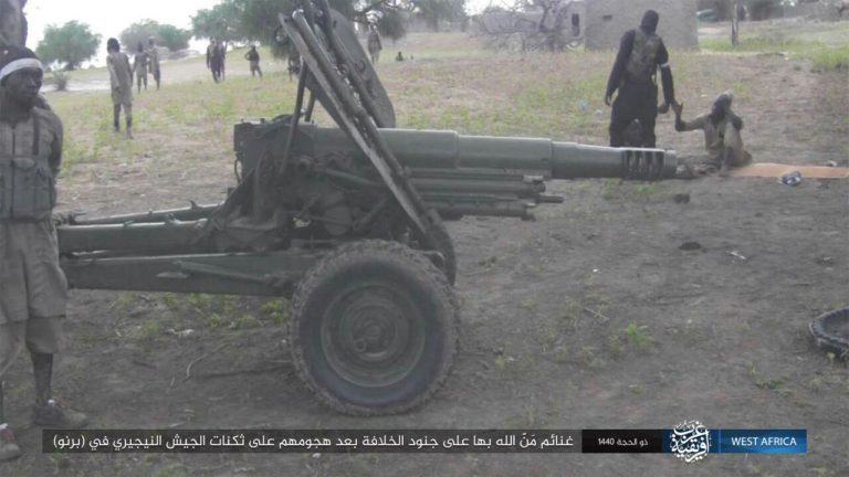GFATF - ISIS publishes images of ISWAP attack on Nigeria military base1