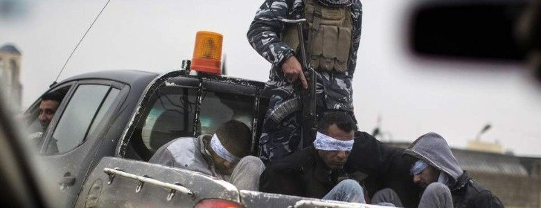 Iraqi security arrest three ISIS members who transferred explosives