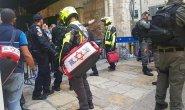 Policeman stabbed in terror attack in Jerusalem