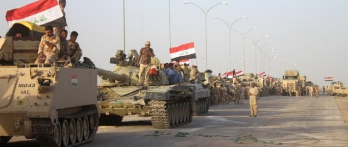 Iraqi Army Forces destroyed at least 12 Islamic State hideouts in Anbar and Kirkuk