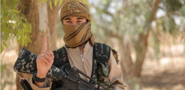 Iraqi army forces arrested Islamic State photographer in Mosul