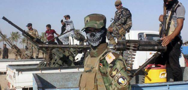 Iraqi paramilitary forces destroyed four Islamic State hotbeds in Diyala
