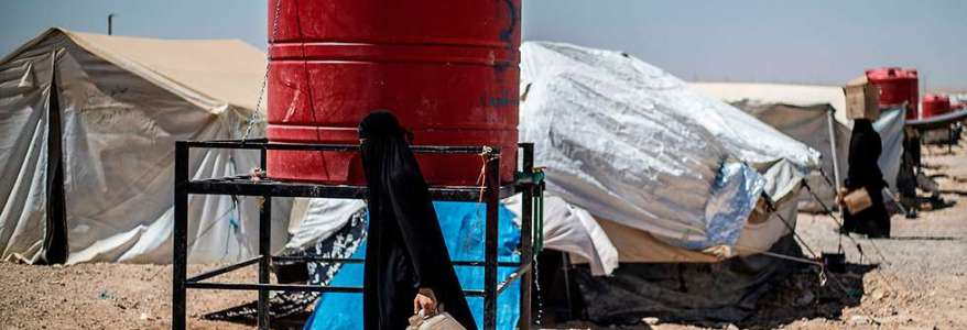 The Islamic State women are a persistent and real threat in the Syrian refugee camps