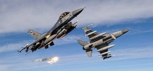 3 PKK terrorists neutralized by Turkish jets in northern Iraq