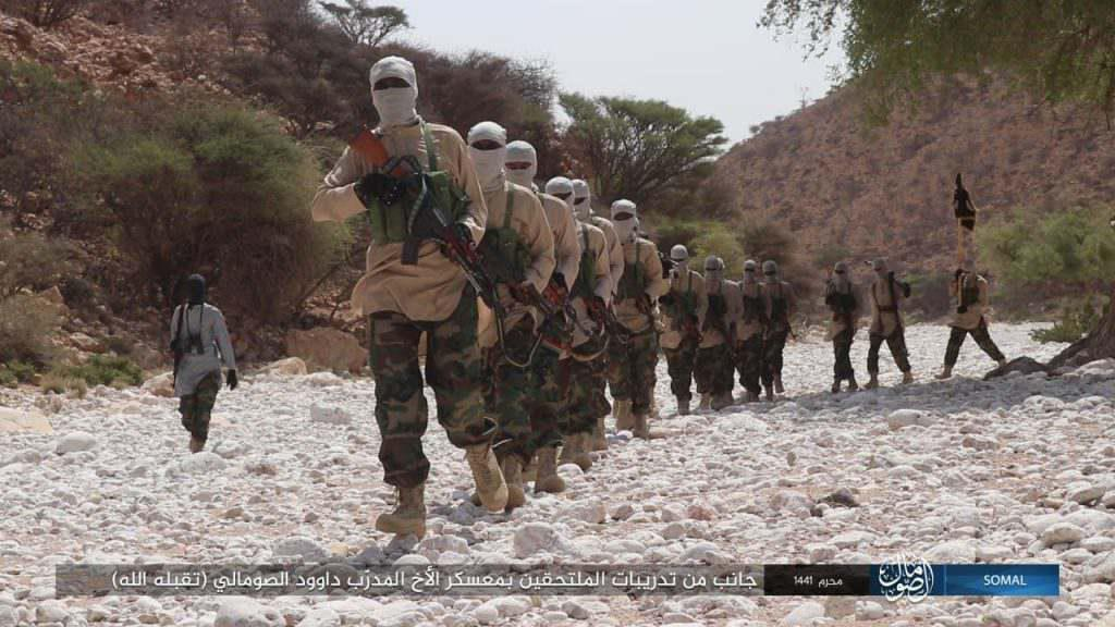 GFATF - Islamic State trains in Somalia Puntland3