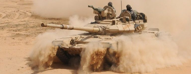 Several ISIS terrorists killed by Syrian troops near Palmyra