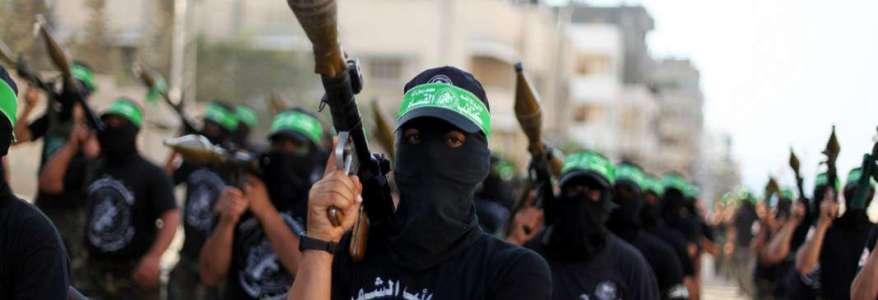 Hamas terrorist group shoot down Israeli drone in Gaza