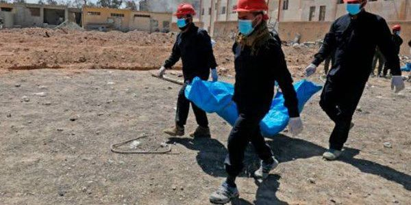 Over 5,000 dead bodies of civilians found in Islamic State mass graves in Raqqa