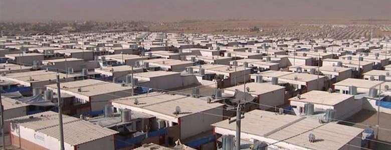 The security in Erbil arrested Islamic State member in refugee camp