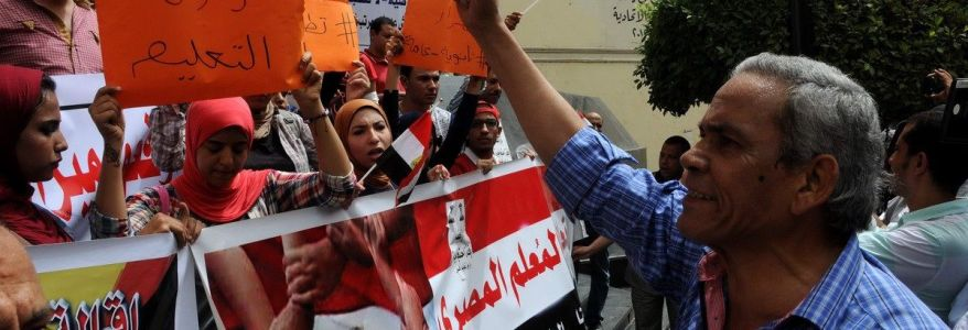Egyptian authorities fire 1,070 teachers for having links to the Muslim Brotherhood