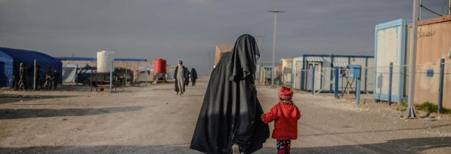Female Islamic State supporter killed in row about secret court in Syrian camp