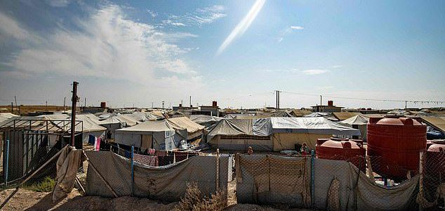 ISIS terrorists seize control of prison camp in Syria where 70,000 women and children are held