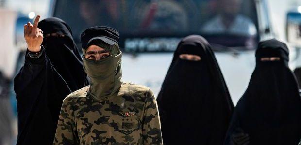 Islamic State brides celebrate Turkey invasion they hope will break them free