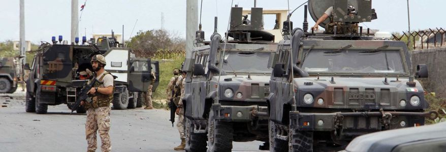 Islamic State claimed responsibility for the double attack on US military base and Italian convoy in Somalia