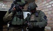 Israeli Army forces prepare demolition of suspected Palestinian terrorist's home