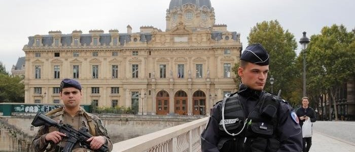 Knife attack at Paris police headquarters leaves five people dead