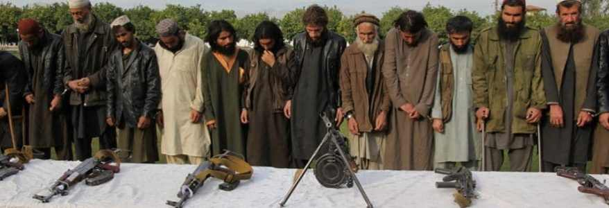 At least 62 ISIS terrorists including Pakistani and Turkish nationals surrender to Afghan forces