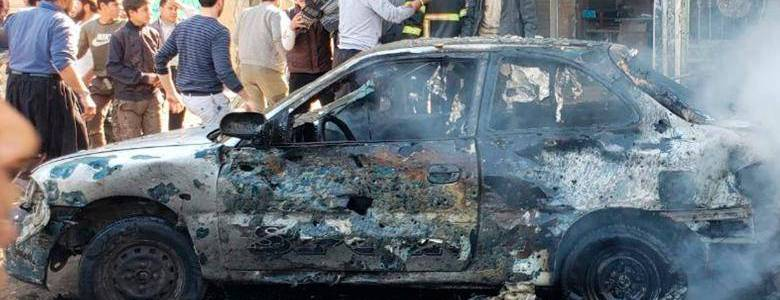 Car bomb kills 15 and injures at least 50 people in the latest bombing in northern Syria