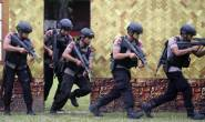 Indonesian police detained five alleged terrorists engaged in militant training