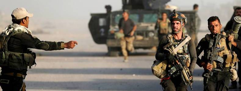 Islamic State terrorists attacked Iraqi Army forces as casualties are reported