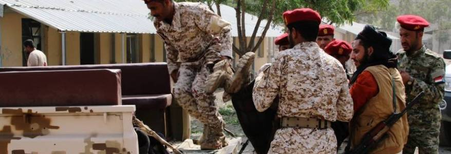 Missile attack kills at least five soldiers in central Yemen