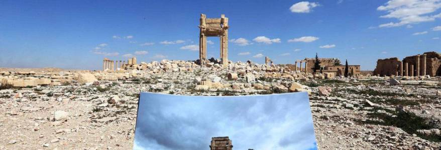Russia and Syria to restore ancient Syrian city desecrated by the Islamic State