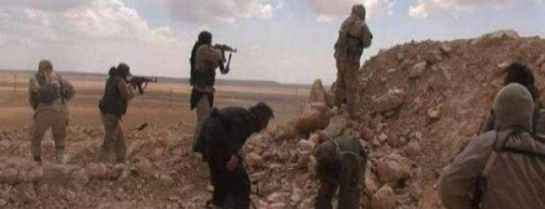 Clashes break out between the Islamic State terrorists and Assad's forces in Deir Ezzor