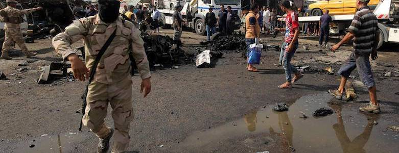 Four explosions across Baghdad leave at least 13 civilians injured