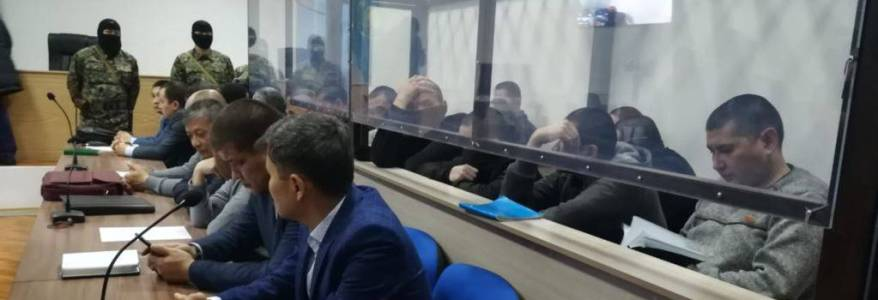 Fourteen men from Kazakhstan get prison terms for terror-related activities and joining the Islamic State