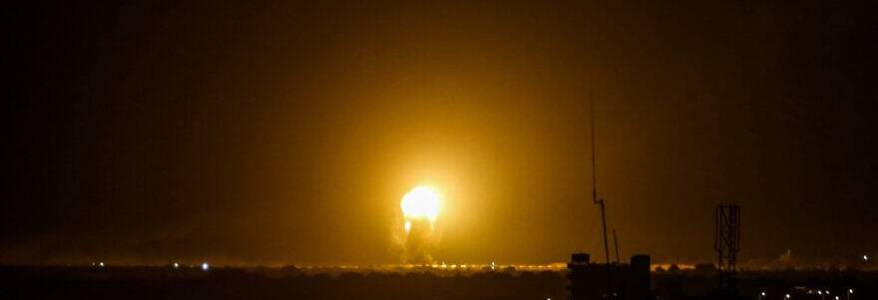 Isreali Defence Forces hits Hamas weapon factories in Gaza following rocket attack