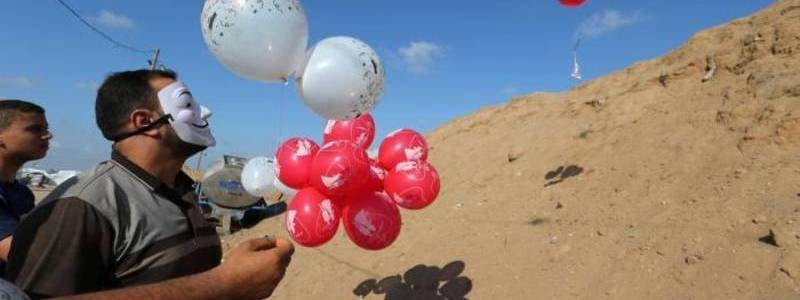Hamas resumes explosive-laden balloons launched at Israel