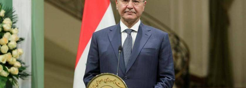 Iraqi president says US and Iraq's fight against the Islamic State should continue