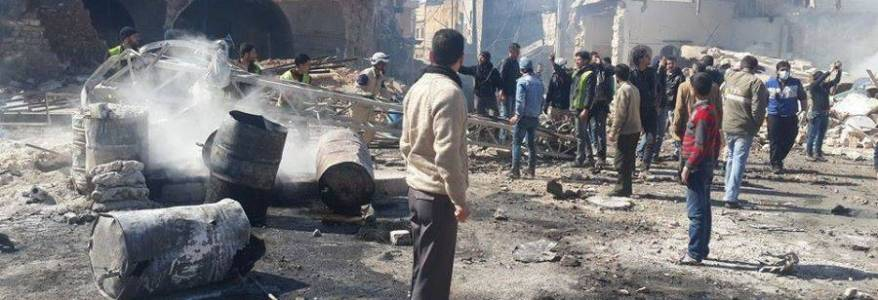 One civilian killed in the latest terrorist bomb attack in Aleppo