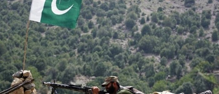 Terrorists from Afghanistan fired two rockets which landed near a border crossing with Pakistan