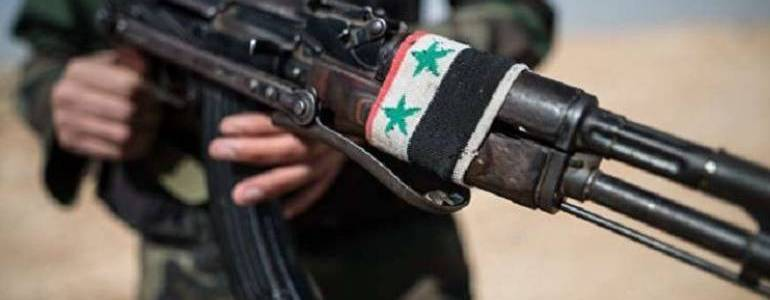 The Islamic State kidnaps four Republican Guard troops east of Damascus
