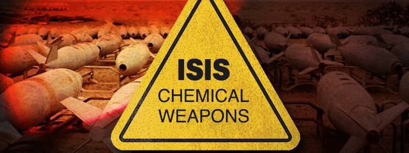 The Islamic State threatens to make Israel chemical weapons training ground
