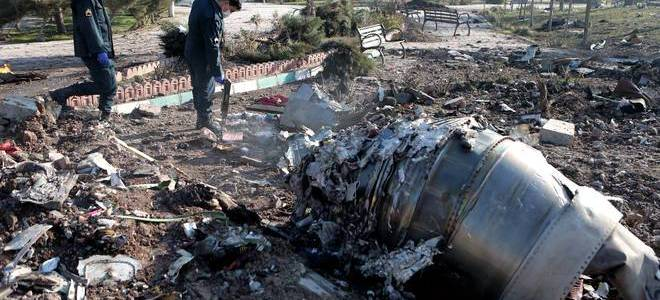 Ukraine security chief says that the plane crash was either a missile or terrorism