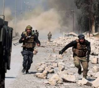 GFATF - LLL - Islamic State terrorists attacked the Iraqi Army forces south of Kirkuk