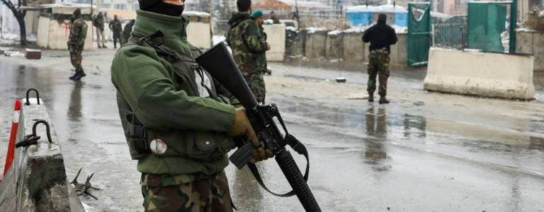 Deadly bomb blast hits the military academy in Kabul