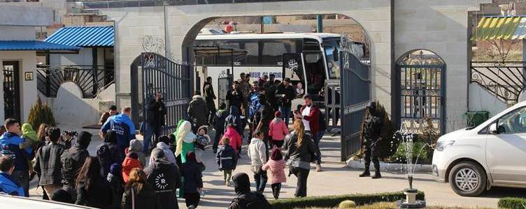 Russian authorities are repatriating 35 children of Islamic State parents from Syria