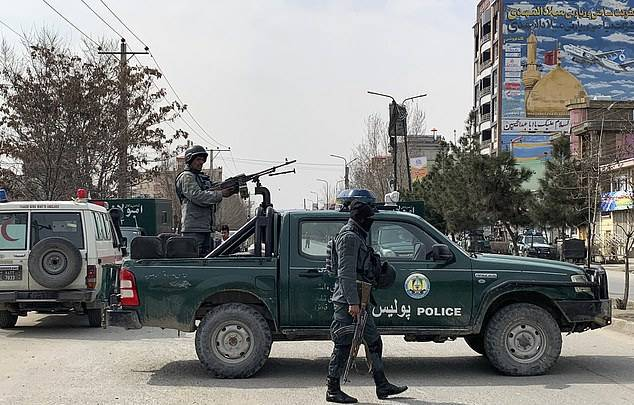 GFATF - LLL - At least 27 people are killed and dozens wounded as gunmen assault political rally in Afghanistan 2