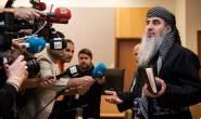 International terrorist and jihadist preacher Mullah Krekar handed over to the Italian authorities by Norway