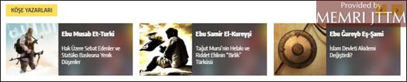 GFATF - LLL - Turkish website posts Islamic State videos, articles and editorials 18
