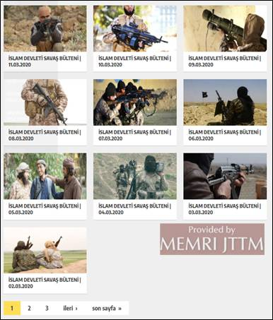 GFATF - LLL - Turkish website posts Islamic State videos, articles and editorials 8
