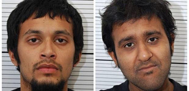 Two Britons jailed for thirteen years for joining terrorist group in Syria
