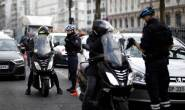 Car rams French police motorcycle seriously injuring two officers